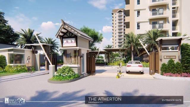 Atherton Entrance DMCI