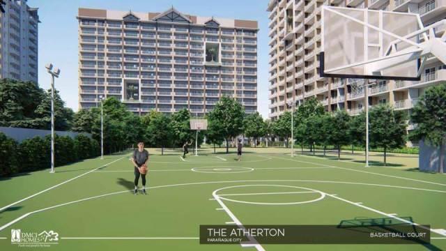Atherton Sucat Basketball Court