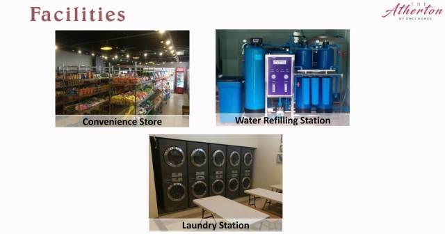 Facilities in Atherton Suca