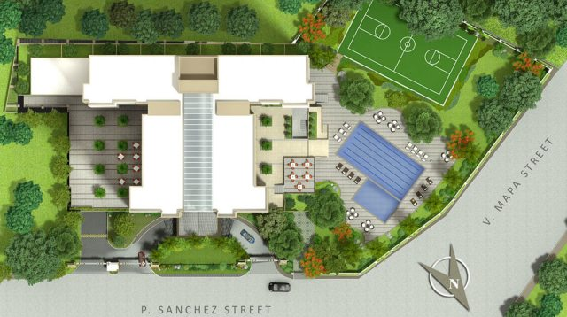 Illumina Residences Manila Site Development Plan