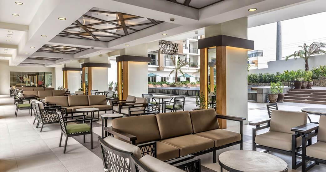 The Amaryllis Lounge Area