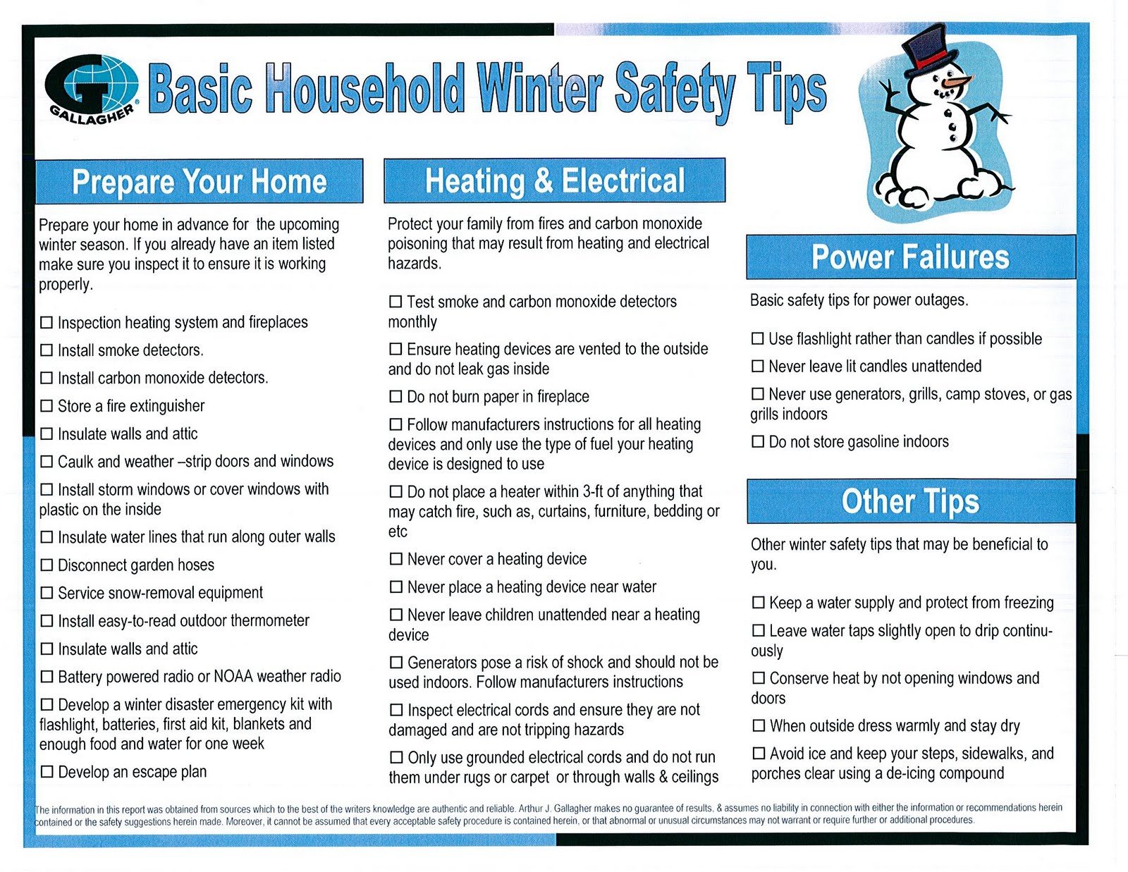 Surviving Winter 101 Make Sure Your House Is Safe For