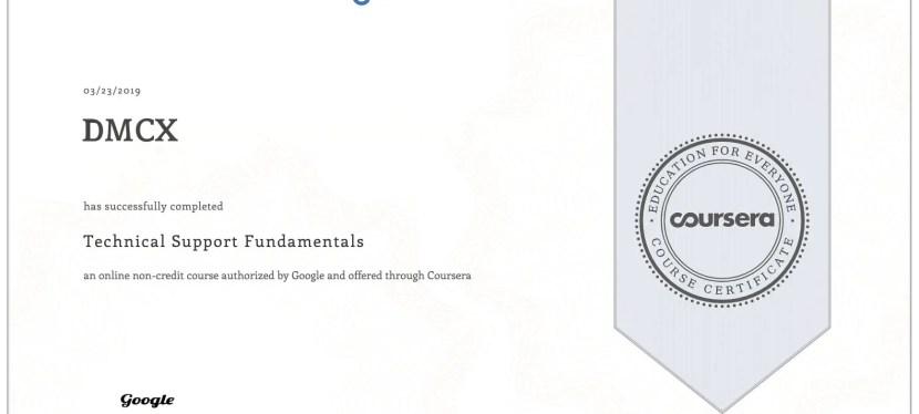 Google IT Certification