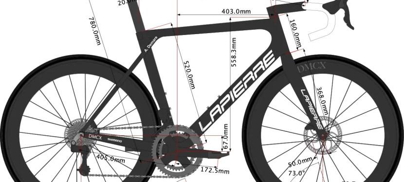 Arnaud Démare's Lapierre Bike size 2021