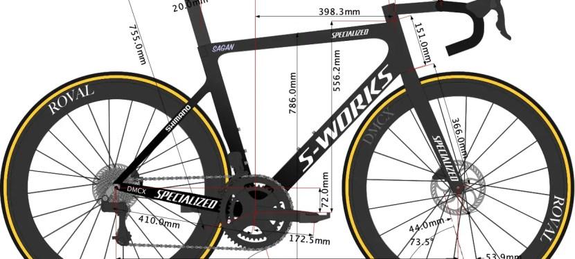 Peter Sagan's Tarmac SL7 2021 Bike Size