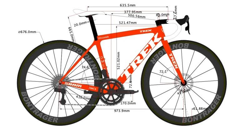 Kenny Elissonde's Trek Emonda SLR Bike Size 2022