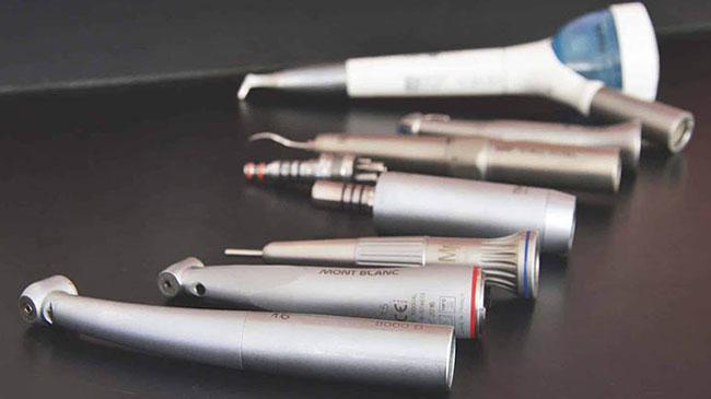 L'atelier dmd : Réparations turbines, contres-angles, micromoteurs,...