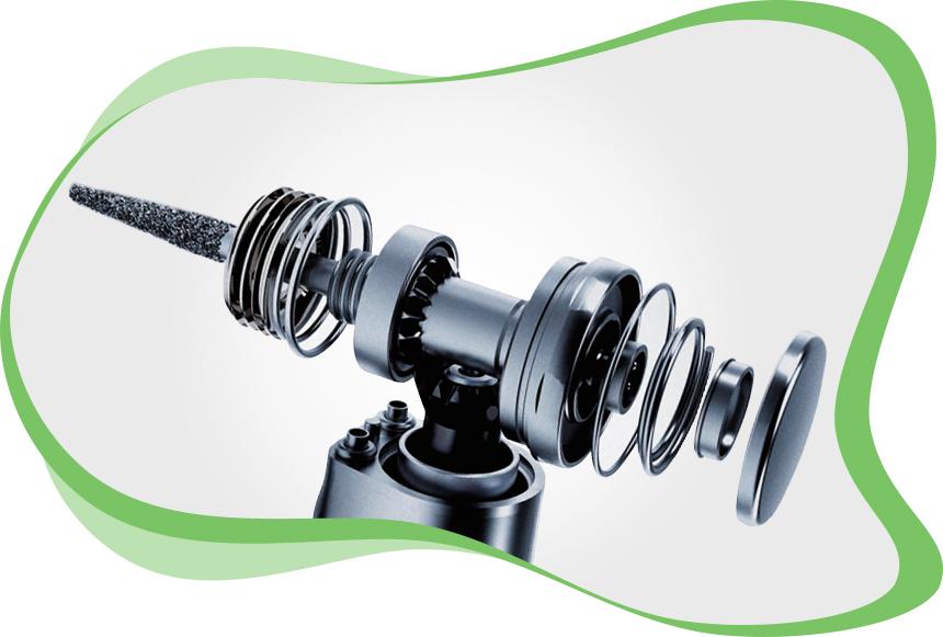 L'atelier dmd Réparations d'Instruments Dentaires - Réparation d'un Contre-angle