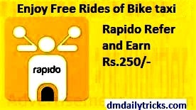 Rapido Referral Code 2020