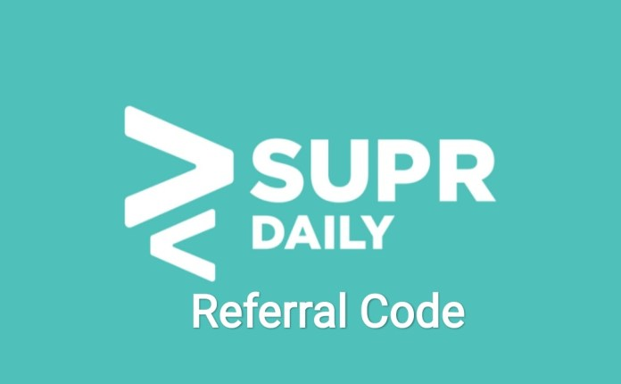 Supr Daily Referral Code