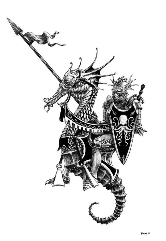 seahorse-knight