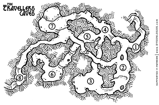 Free map for you to use in your personal campaigns.