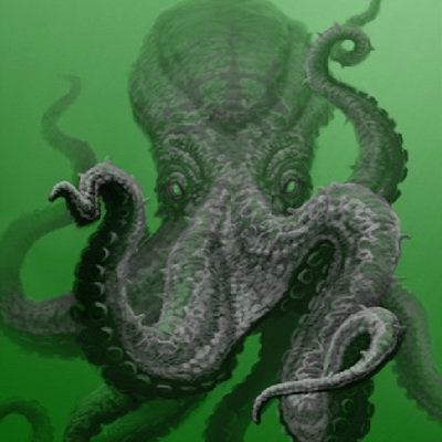 octopus-in-green-water