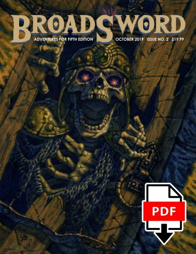 BroadSword Monthly Issue #2 PDF available for instant download at dmdave.com