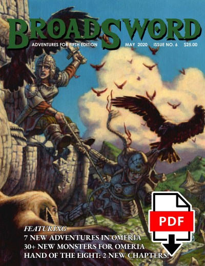 BroadSword Monthly Issue #6 PDF available for instant download at dmdave.com