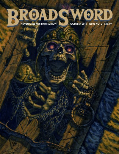 BroadSword Monthly Issue #2 available at dmdave.com