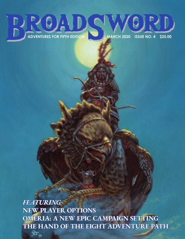 BroadSword Monthly Issue #4 available at dmdave.com