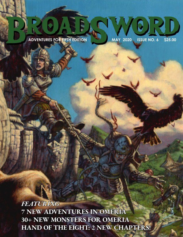 BroadSword Monthly Issue #6 available at dmdave.com