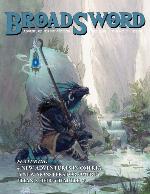 BroadSword Monthly Issue #7 available at dmdave.com