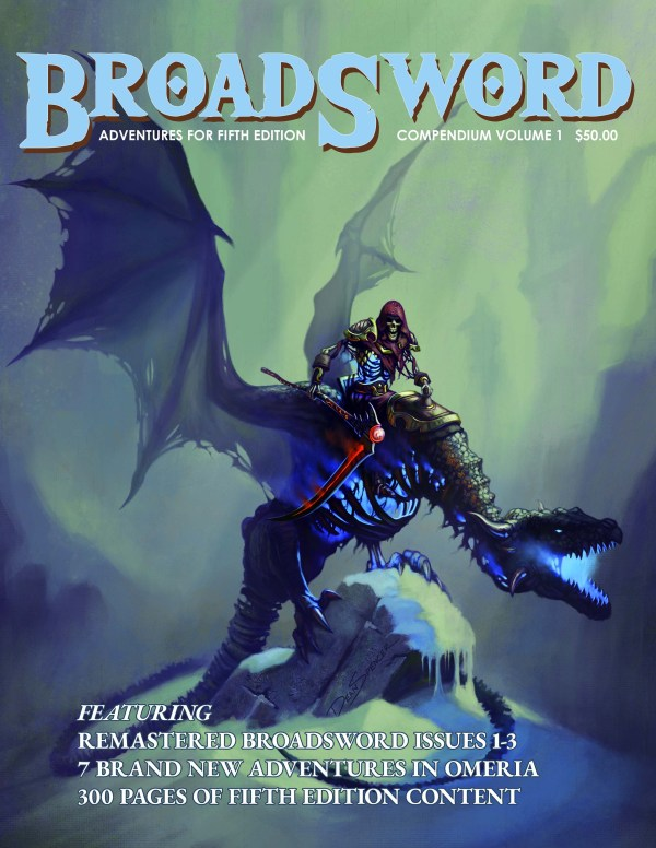 BroadSword Compendium Vol. 1 available at dmdave.com