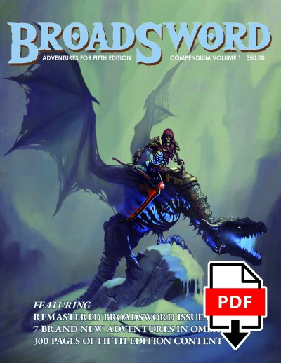 BroadSword Compendium Vol. 1 PDF available for instant download at dmdave.com