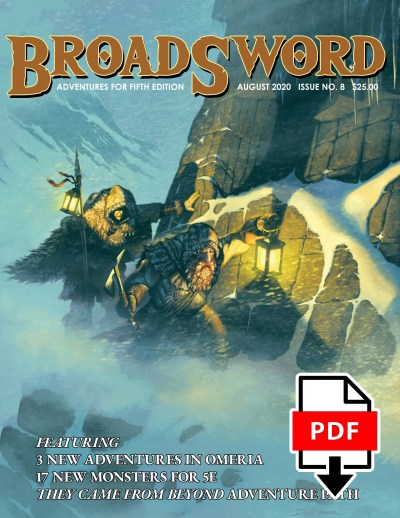 BroadSword Monthly Issue #8 PDF available for instant download at dmdave.com