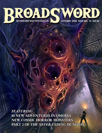BroadSword Monthly Issue #10 available at dmdave.com
