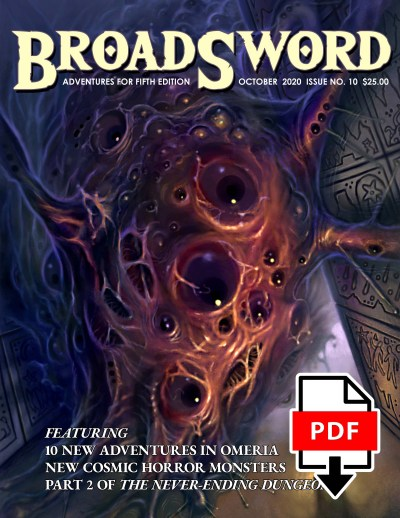 BroadSword Monthly Issue #10 PDF available for instant download at dmdave.com