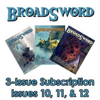 BroadSword 3 Issues Subscription 10-12 (Print) available at dmdave.com