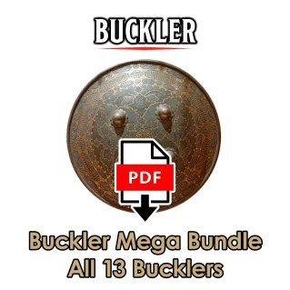 Buckler Mega Bundle includes 13 PDFs of original content from the DMDave Patreon. Available for instant download at dmdave.com