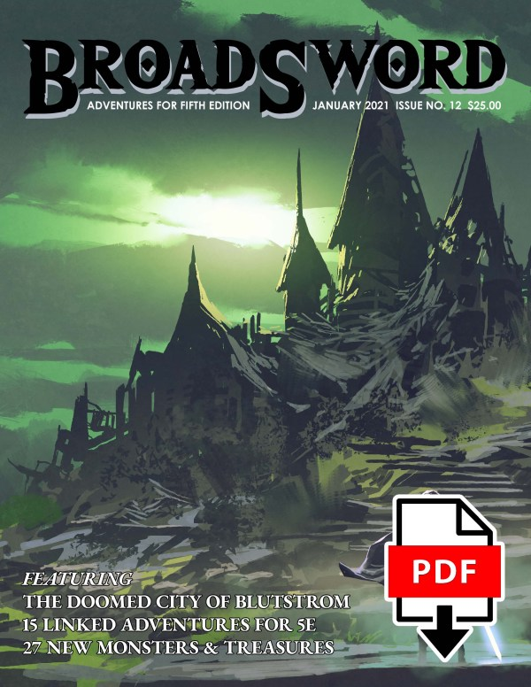BroadSword Monthly Issue 12 PDF version for instant download at dmdave.com