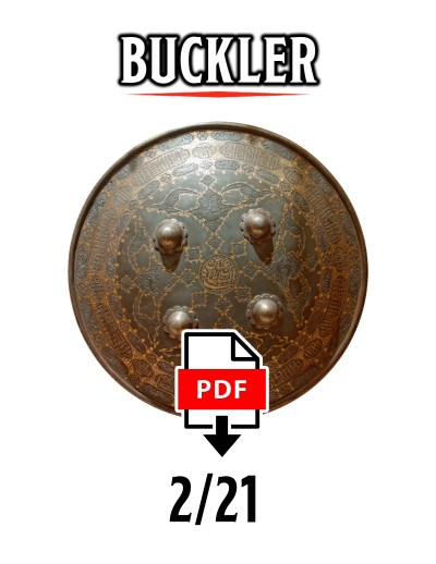 Buckler February 2021 by DMDave, available at the dmdave.com shop for instant download