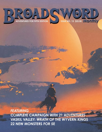 BroadSword Issue 13 by DMDave, Scott Craig & others