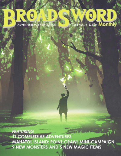 BroadSword Issue 14 (Print) - now available in the dmdave.com shop
