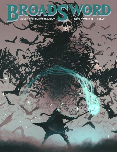 BroadSword issue 16 - buy it now at dmdave.com