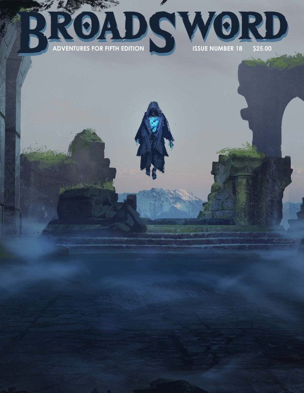 BroadSword issue 18 - buy it now at dmdave.com