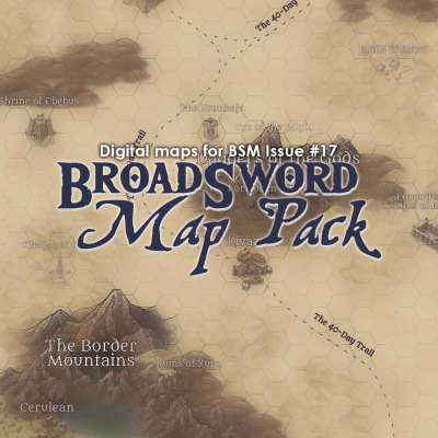 BroadSword Map Pack: Digital Maps for BroadSword Monthly #17