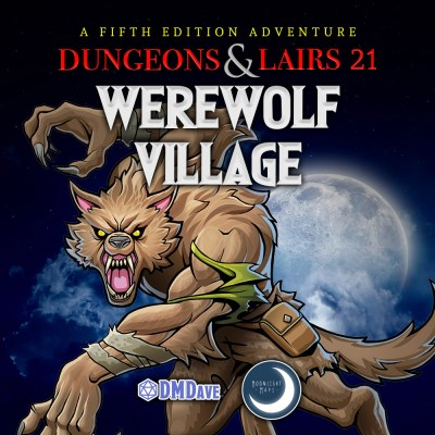 Dungeons & Lairs 21: Werewolf Village Digital Asset Pack