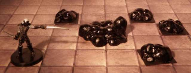 Black pudding miniature figures
