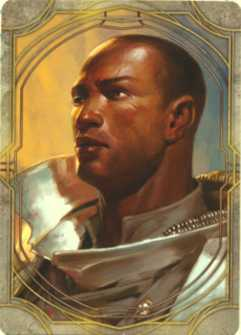 Ulder Ravengard card from Murder in Baldur's Gate