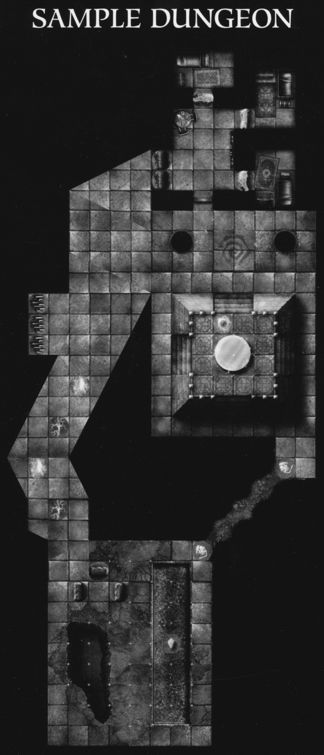 DN4 Cathedral of Chaos sample dungeon