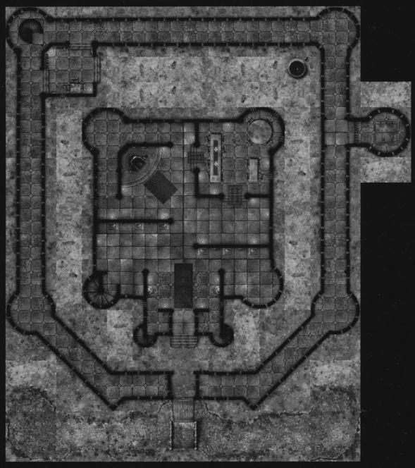 DN6 Castle Grimstead sample castle