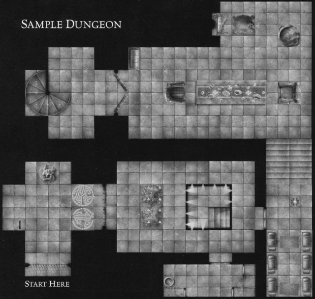DU1 Halls of the Giant Kings sample dungeon