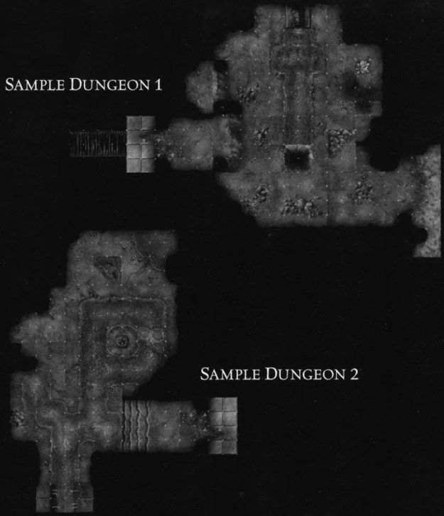 DU3 Caves of Carnage sample dungeon