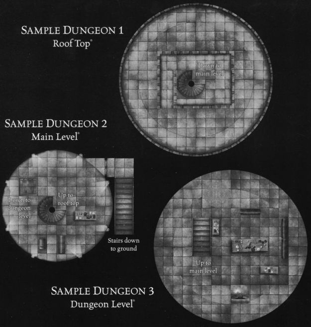 DU4 Arcane Towers sample dungeon
