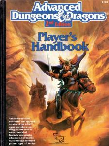 Player's Handbook (2nd edition)