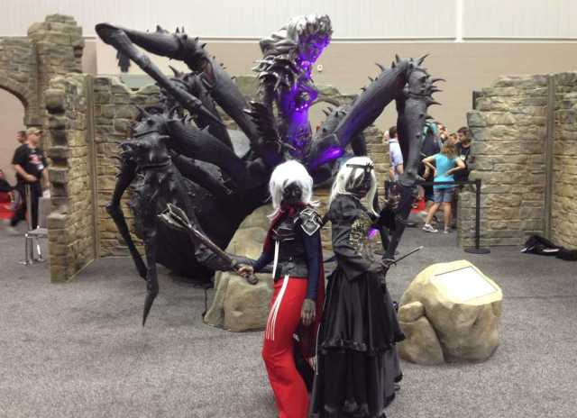 Lloth and Drow at Gen Con