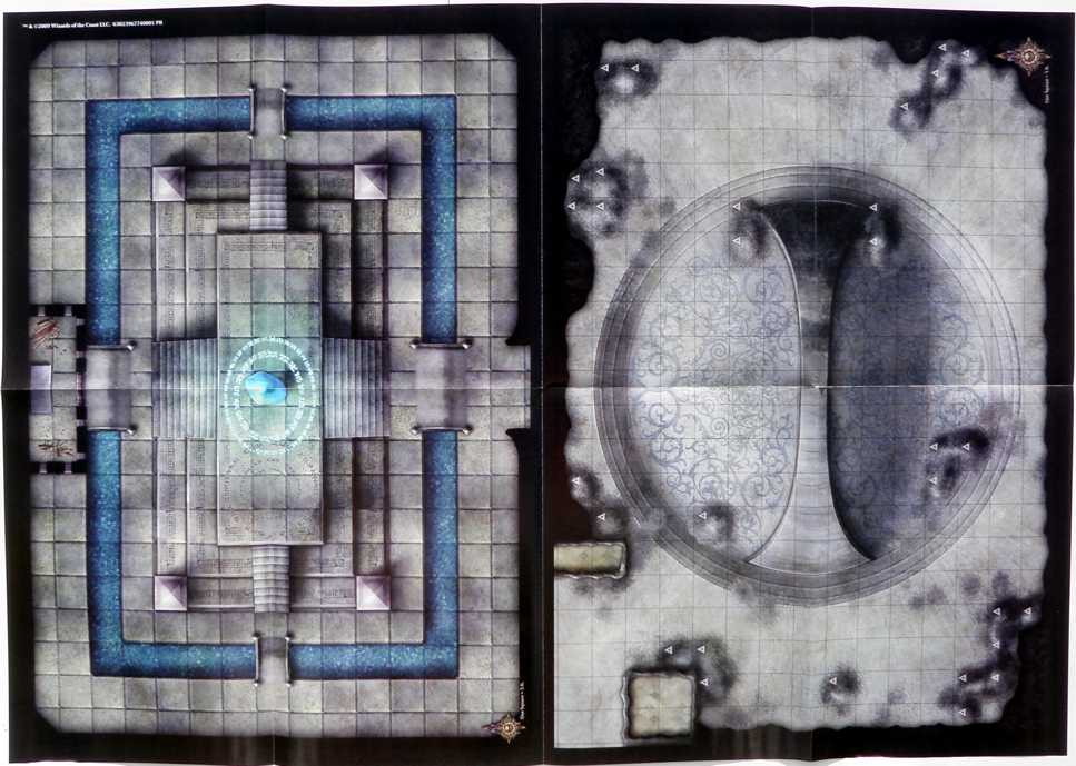 Battle maps in fourth-edition D&D products   DMDavid