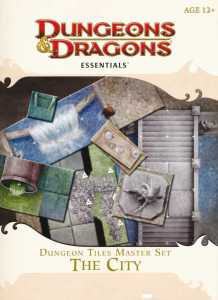 Dungeon Tiles Master Set The City - front cover