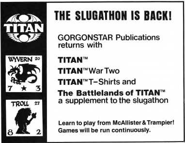 Titan game advertisement